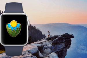 AppleWatch国立公園チャレンジ