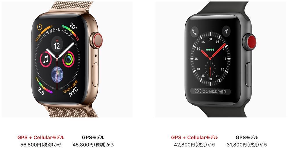 ここが変わるよSeries4!AppleWatch Series4 vs AppleWatch Series3 ハードウェアの進化ポイントは