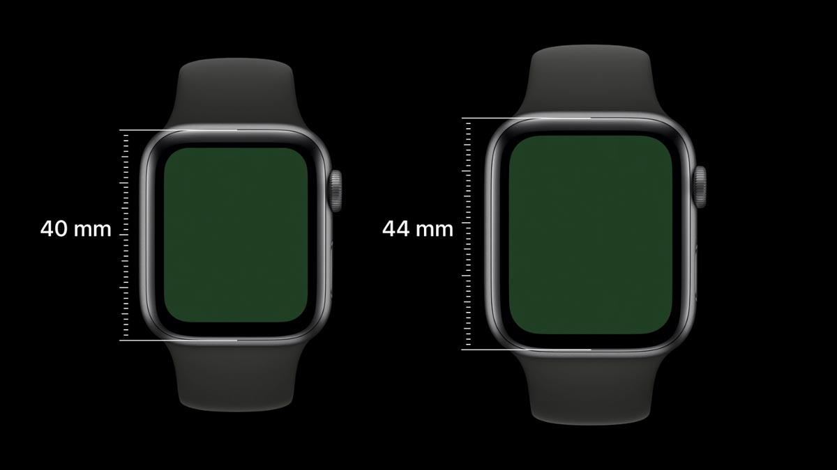 AppleWatch Series4、画面のサイズはどう変わる?40mmと44mm、最適なサイズはどっち?