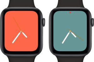 AppleWatch Series4向けの新文字盤『カラー(フルスクリーン)』、リリース間近のwatchOS 5.1で提供か