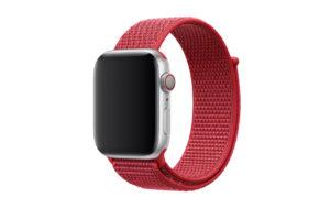 Apple、AppleWatch向けに「(PRODUCT)REDスポーツループ」を発売!