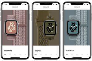 Apple Watch Nike+のスポーツバンド、スポーツループバンドに新色が登場!11月16日より発売開始