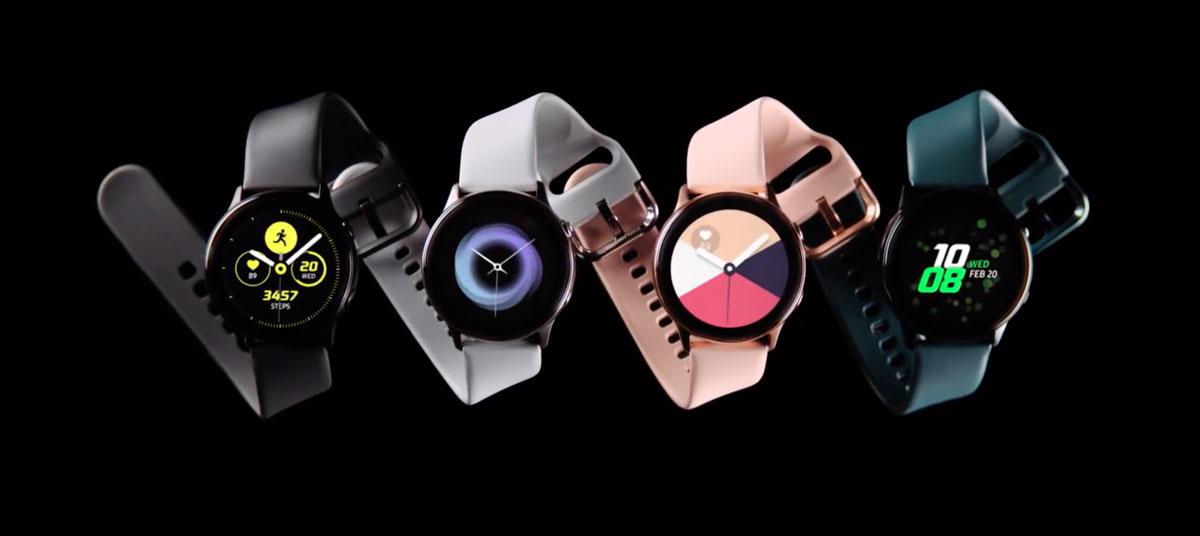Samsungが新型スマートウォッチ「Galaxy Watch Active」を発表。血圧計や、スマホからのワイヤレス充電など気になる機能が搭載!