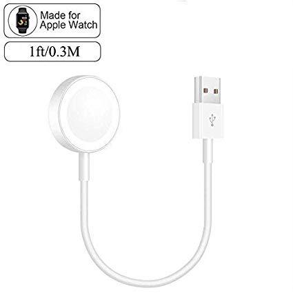AppleWatchの充電ケーブル(0.3m)がタイムセール中!