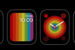 watchOS 5.2.1で新文字盤「プライドデジタル」「プライドアナログ」が追加!