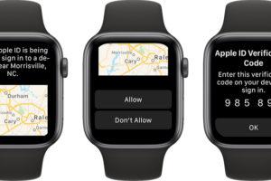 AppleWatchでAppleIDの認証コードが表示可能に!watchOS 6で対応