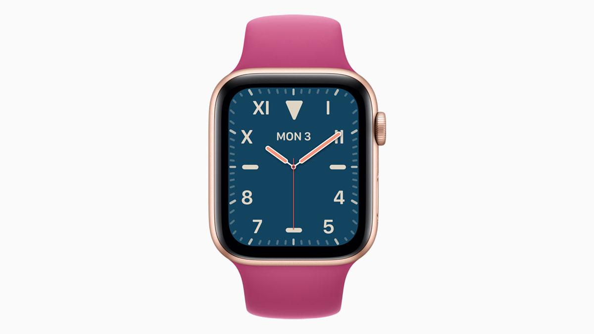 Watchos 6で追加される新文字盤 California のカスタマイズ項目まとめ Apple Watch Journal