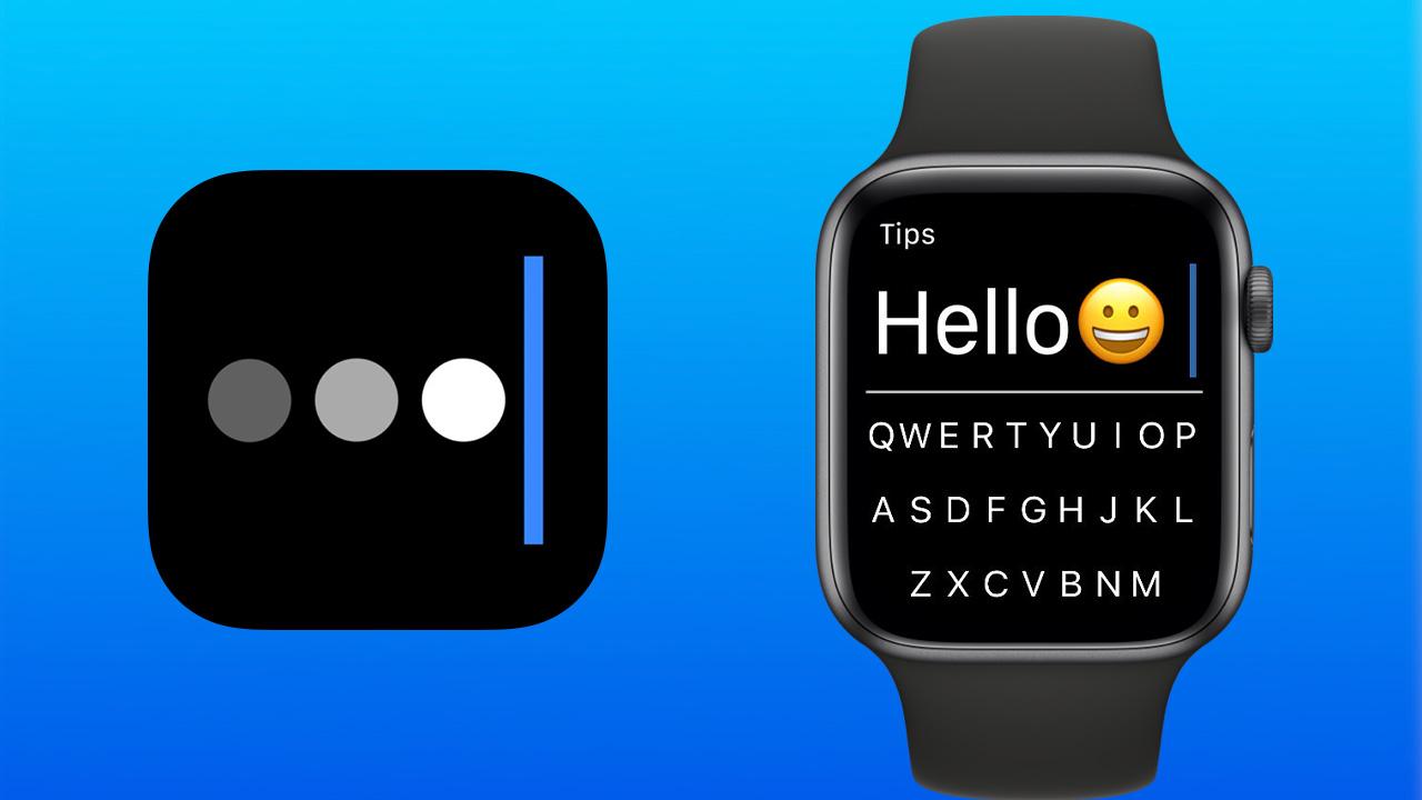 AppleWatch上でQWERTYキーボードを使った文字入力ができる「FlickType Keyboard」、信じられないくらいに快適に文章が打てる!!