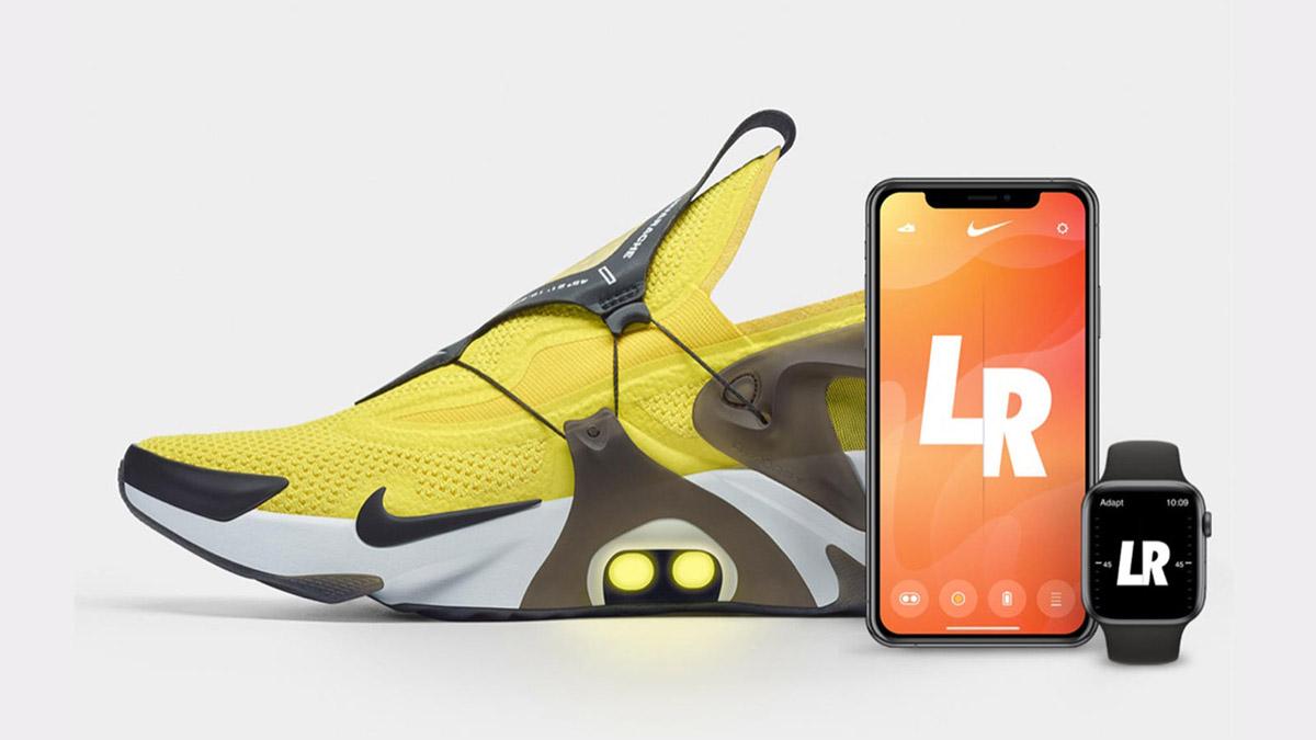 Nike、AppleWatchとも連携するスニーカー「Adapt Huarache」を発表!