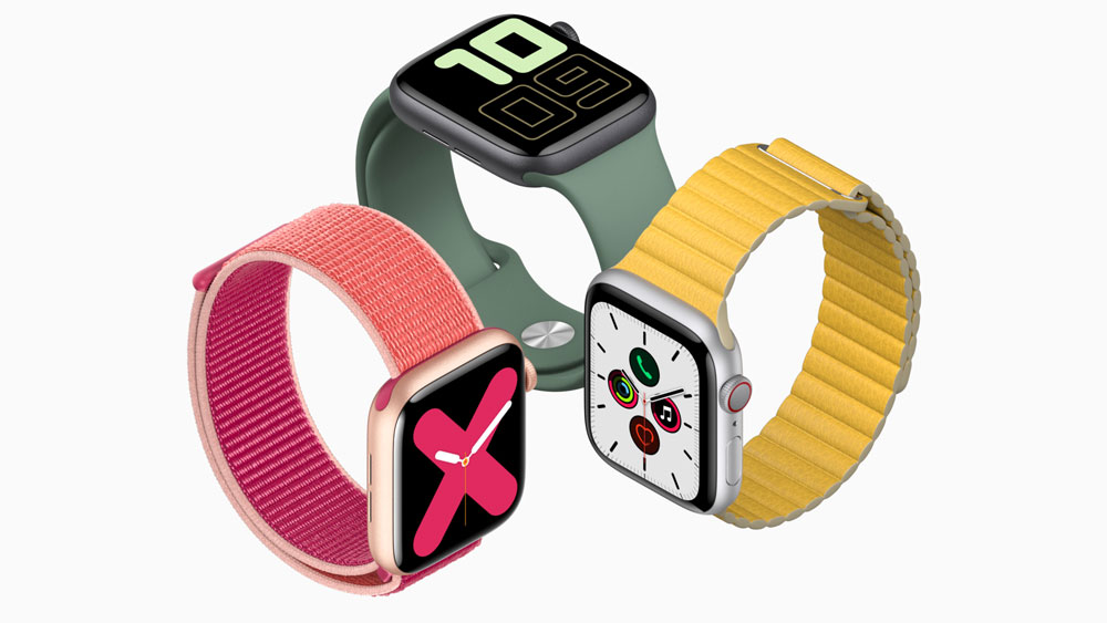 AppleWatch Series5が発表!ついにディスプレイの常時表示が可能に!!!(発売日は9月20日、予約受付中)