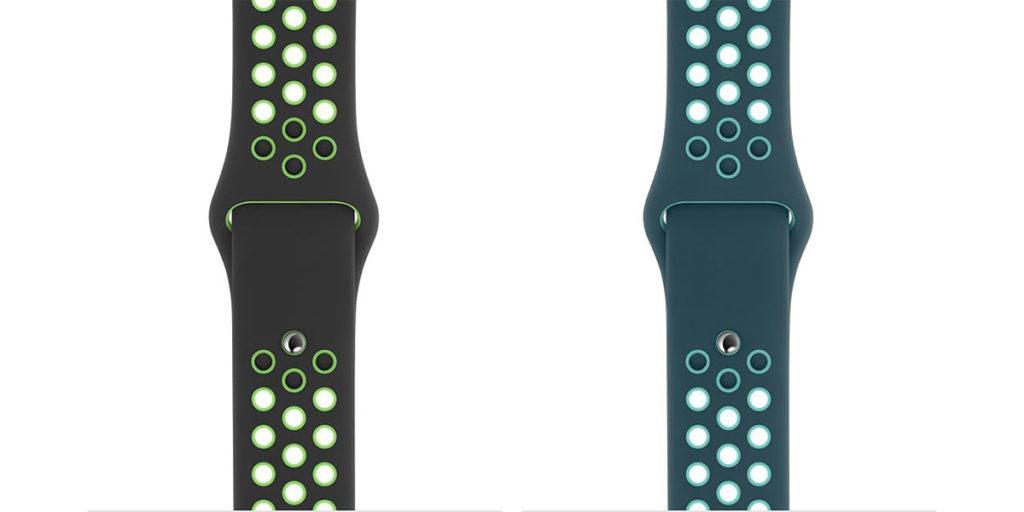 Apple Watch 2020年春夏向けの新色バンド(Nikeスポーツバンド)