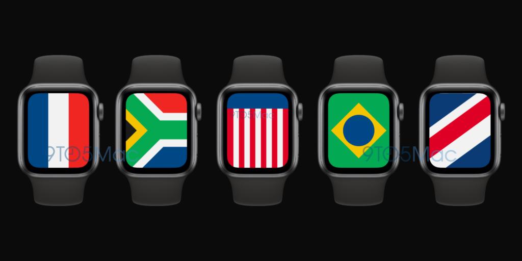 watchOS 7の新しい文字盤「インターナショナル」