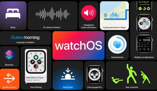 【watchOS7】WWDC2020で発表されたApple Watchの新機能まとめ!