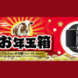 ヨドバシカメラ「夢のお年玉箱2021」の申し込みを開始!Apple Watch Series 5を30,000円で購入できるチャンス!